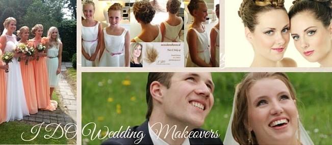 Bruidsvisagie, bruidskapsel, Bruids make-up aan huis Groningen, Friesland, Drenthe www.idomakeovers.nl